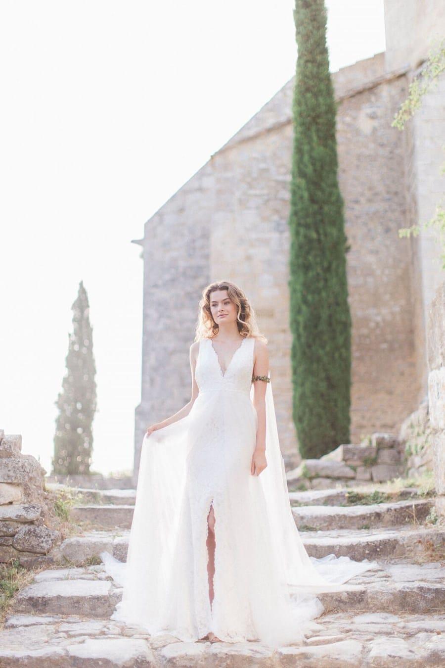 Das neue Brautkleid-Label LAURE DE LIS vom Starnberger See ...