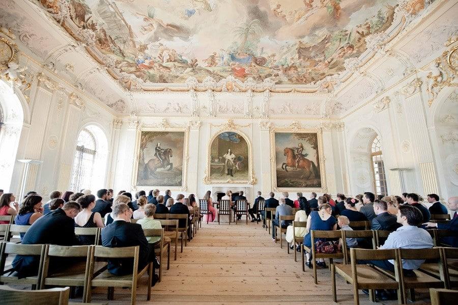 Schleißheim bei München: Standesamt im Schloss