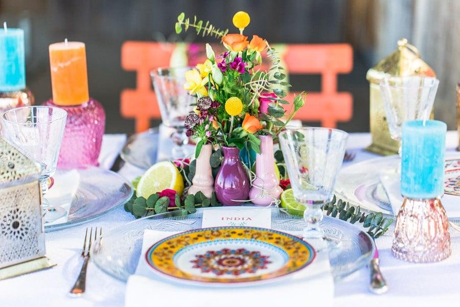 Inspiration für eine bunte Boho-Beach-Hochzeit am Chiemsee