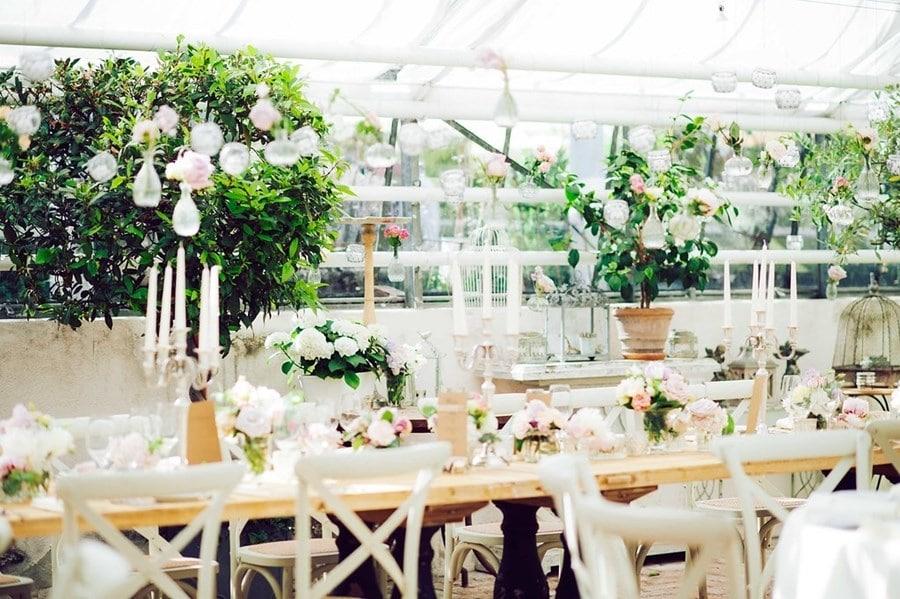 Elegante Hochzeit in der Alten Gärtnerei bei München
