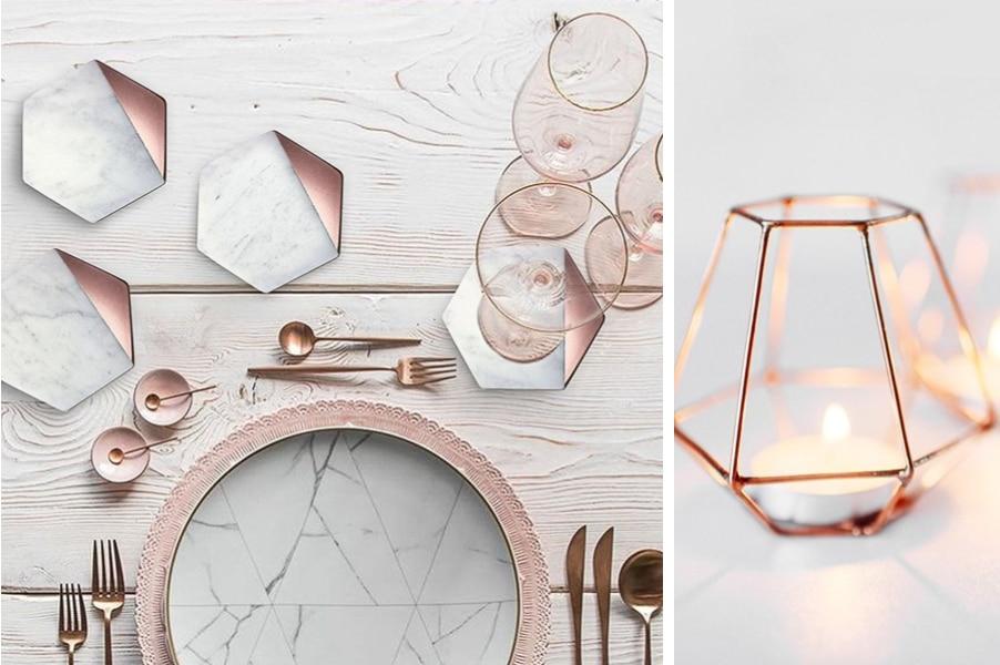 Hochzeitstrends 2018/2019: Geometrische Formen