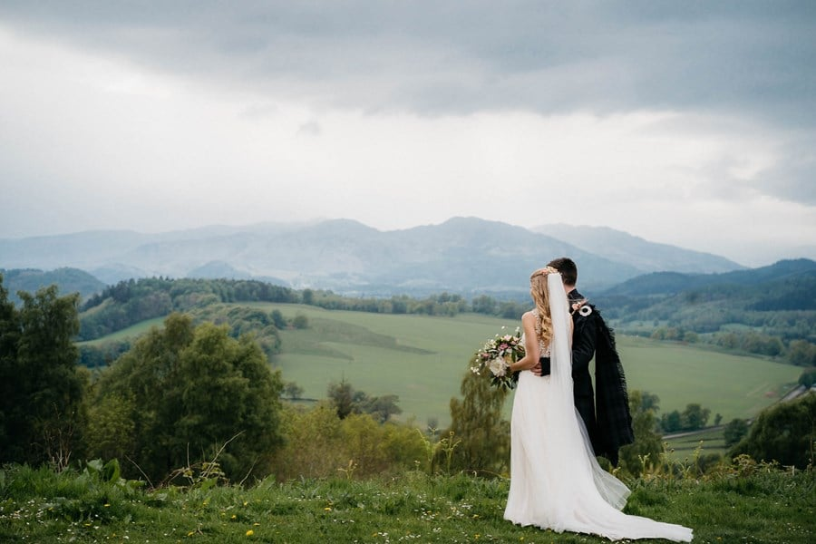Bayerisch-schottische Hochzeit mit humanistischer Trauung