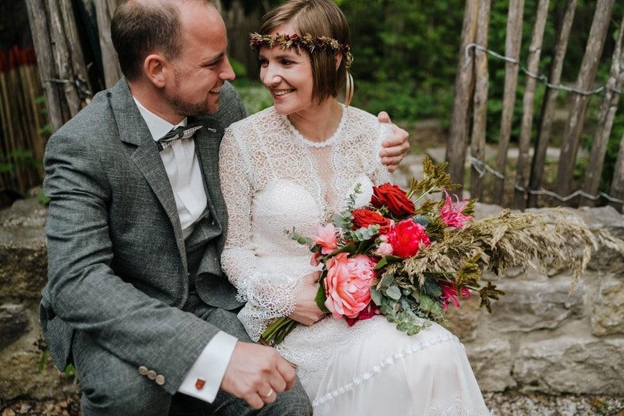 Vintage-Hochzeit in der Menterschwaige München