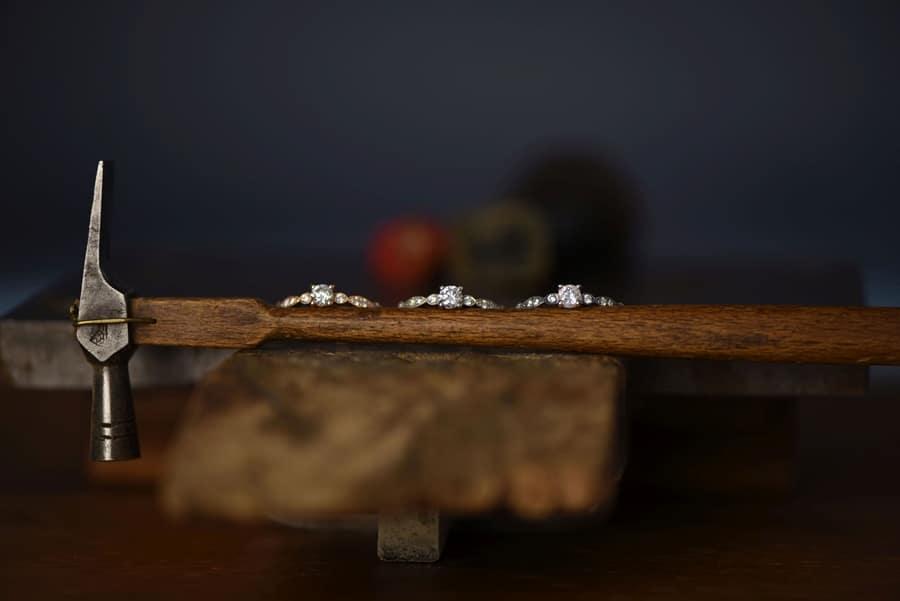 Nachhaltige Eheringe aus Recycling-Gold aus der Goldschmiede Andreas Hirn Wertingen bei Augsburg