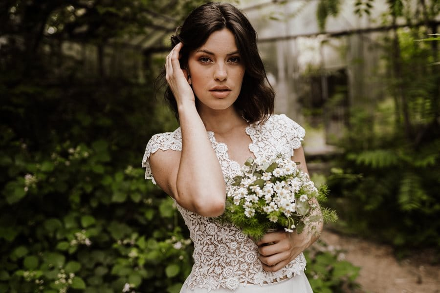 Kurze Brautkleider nicht nur fürs Standesamt von Claudia Heller