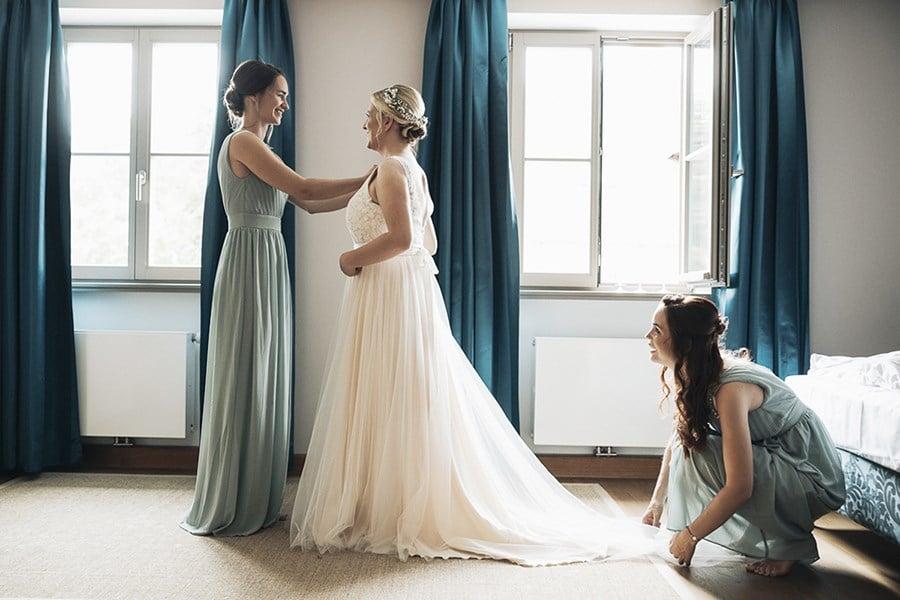 Was du über das Getting Ready am Hochzeitsmorgen wissen musst