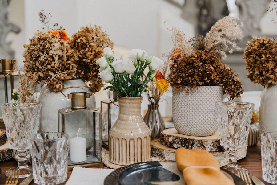 Trockenblumen-Hochzeit: Inspirationen zum Dekotrend
