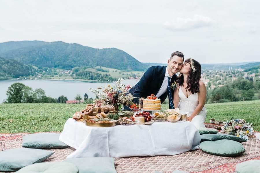 Echte Corona-Hochzeit am Schliersee: ein Brautpaar berichtet
