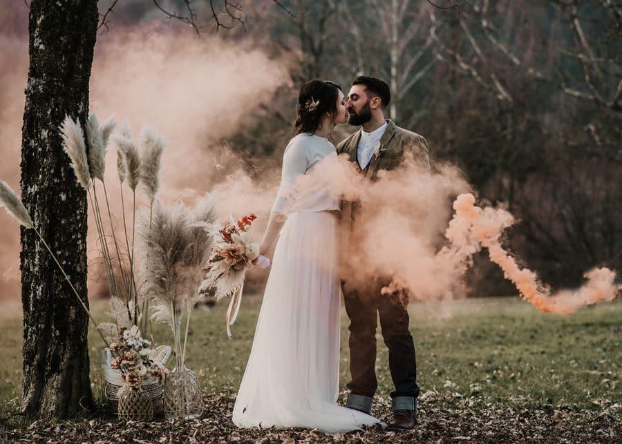 Ideen für eine Corona-Hochzeit im Herbst oder Winter
