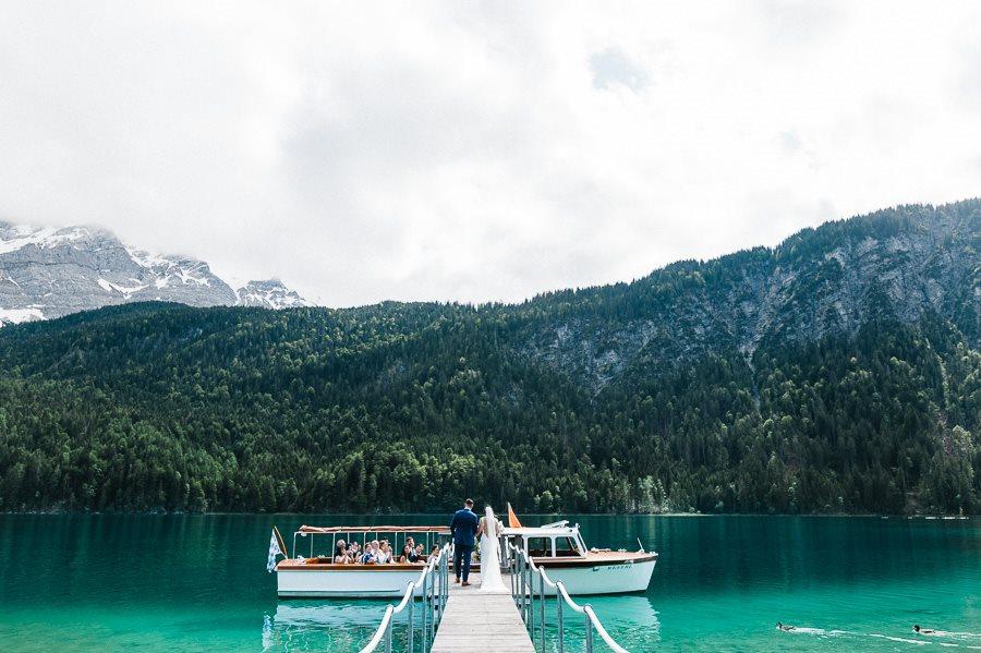 Kleine Hochzeit am Fuße der Zugspitze