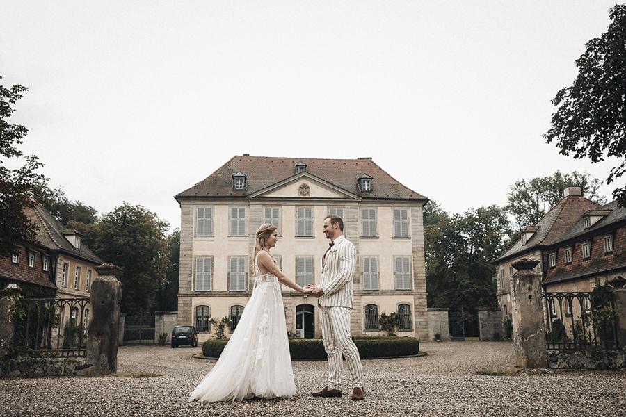 Sommerliche Hochzeit auf Schloss Birkenfeld