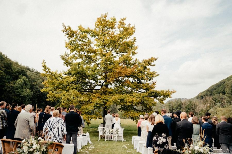 Naturverbundene Hochzeit in der Schwäbischen Alb